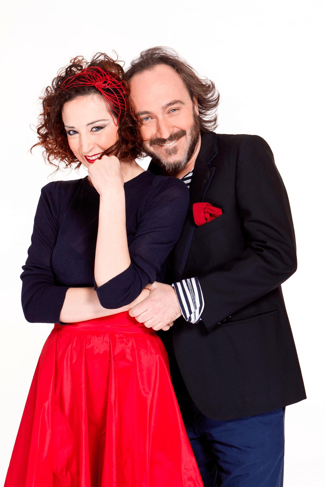 Marta Zoboli e Gianluca De Angelis: scambi di lettere al tavolo di uno speed date
