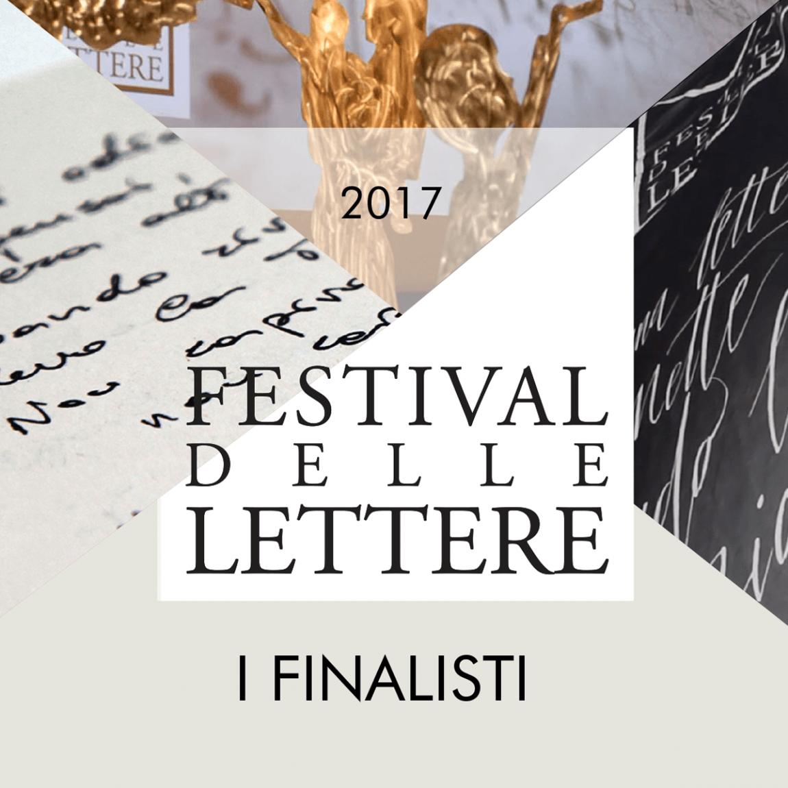 I finalisti del Festival delle lettere